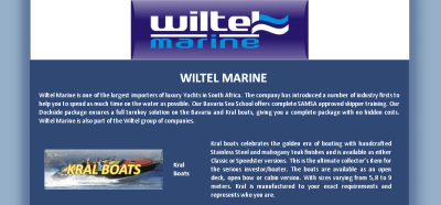 Wiltel Marine Luxury Boating